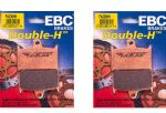 "TIGER Explorer 1200 EBC Full Front Sintered ""HH"" Brake Pads EBC FA236HH (2xPairs)"